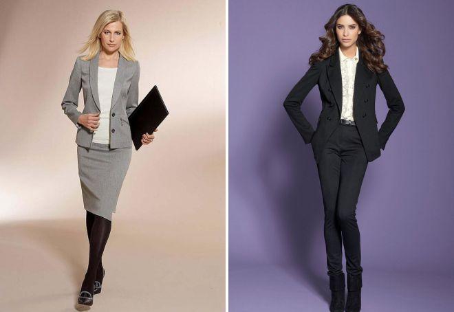Строгий стиль – деловой, английский, современный, классический ... b2e52339058