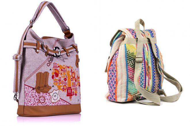 текстильная сумка рюкзак