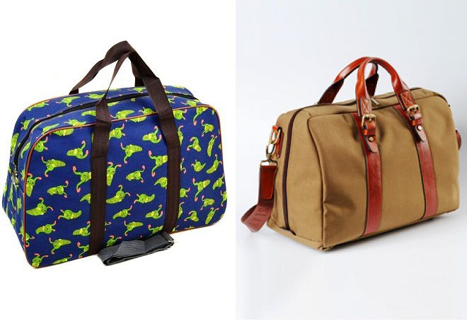 текстильная дорожная сумка
