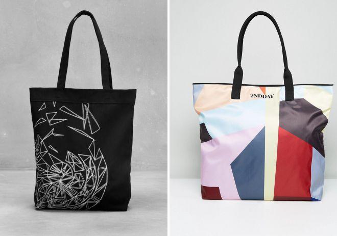 текстильная сумка шоппер