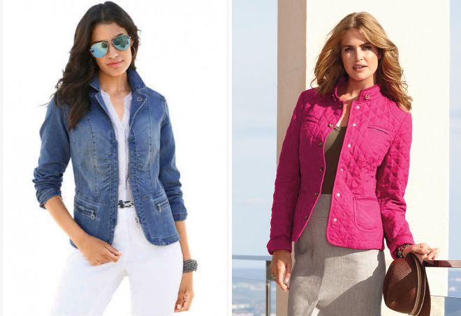 женская летняя куртка пиджак