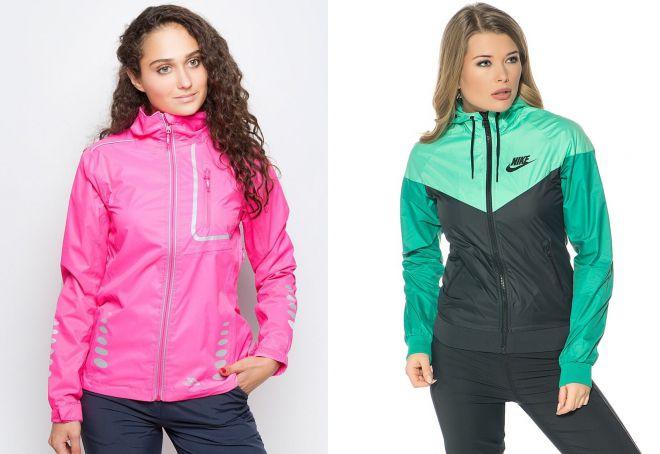 женская летняя спортивная куртка