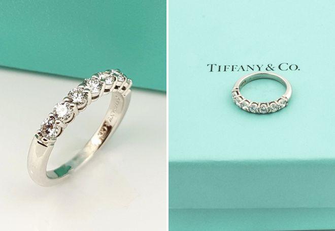 кольцо дорожка Тиффани