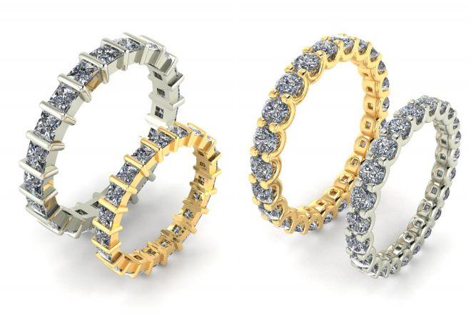 обручальные кольца дорожки