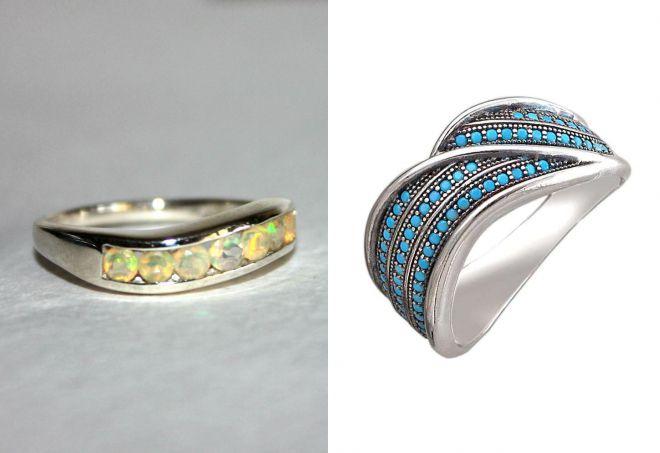 роскошное кольцо дорожка