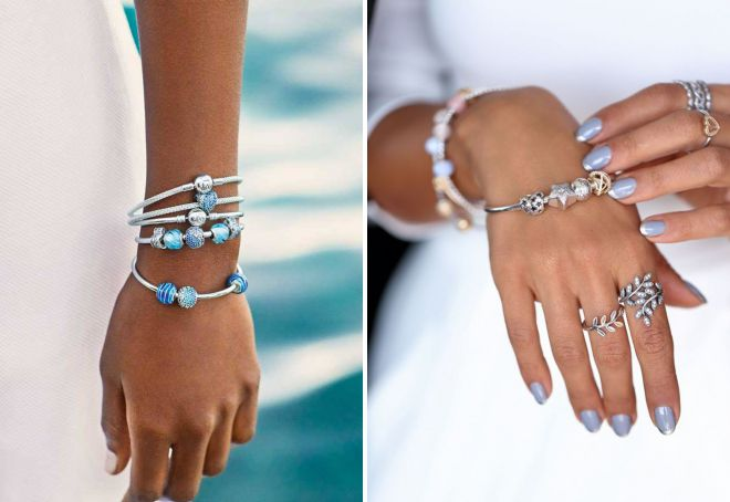 модные женские браслеты на руку