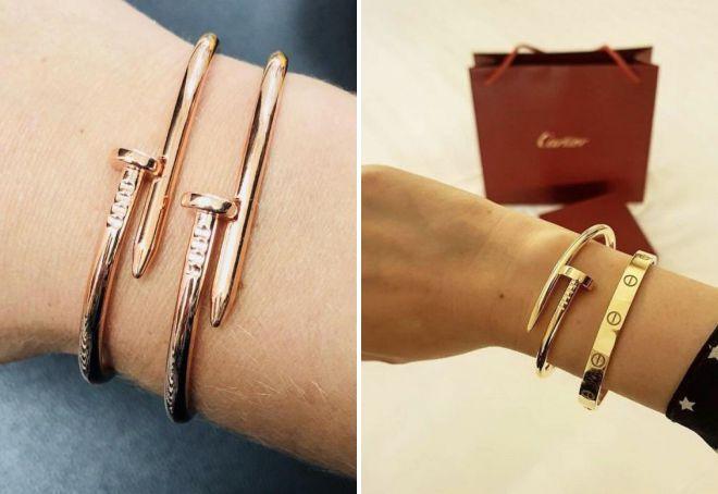 модные браслеты известных брендов