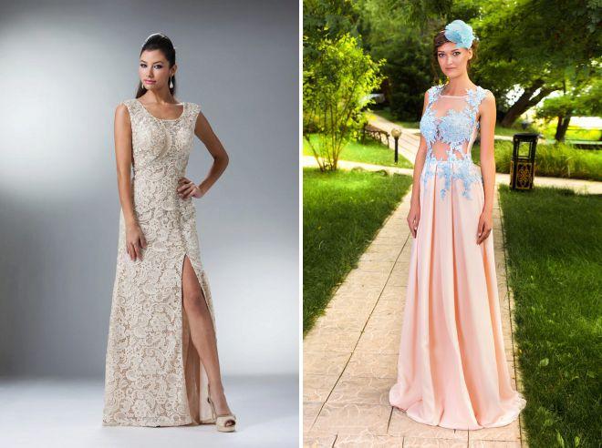 красивые платья с корсетом