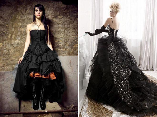 пышные платья с корсетом