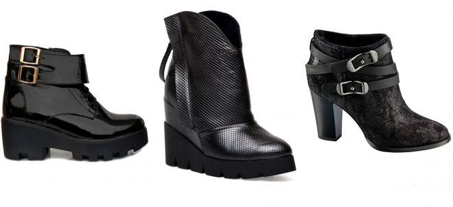 Модные женские ботинки на осень 2017 – на каблуке и без, платформе ... 6f46c164fa0