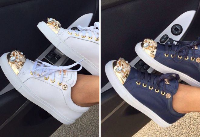 белые кроссовки на платформе