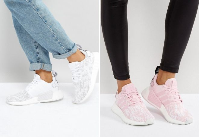 кроссовки на платформе адидас
