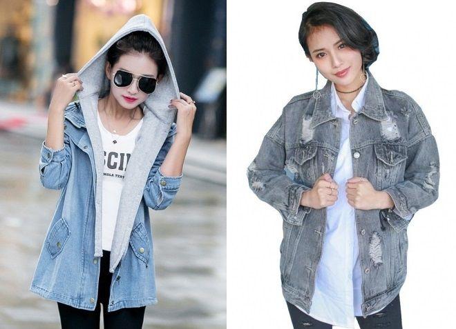 женская джинсовая куртка пилот 2017