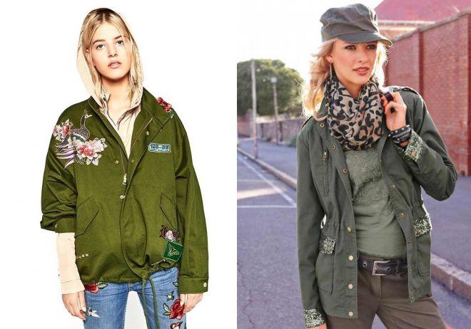 женская джинсовая куртка пилот