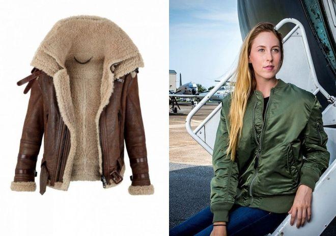 американские куртки пилот история