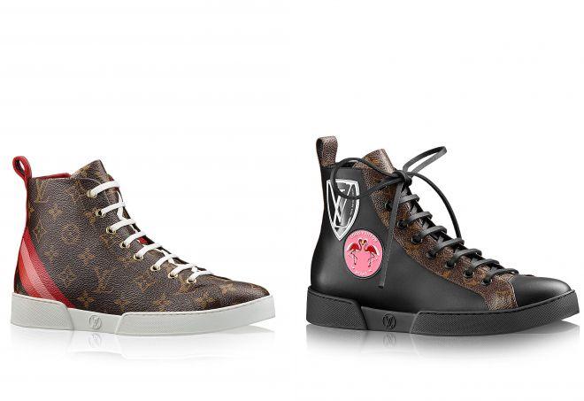 черные кроссовки louis vuitton