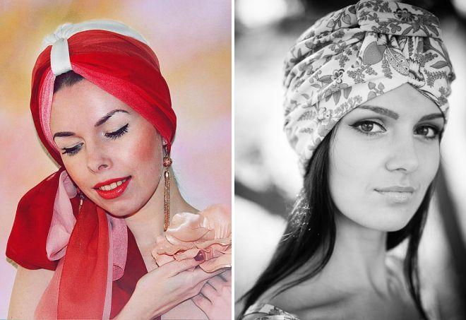 turban d'enveloppement