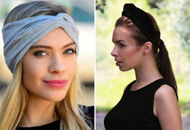 cheveux turban