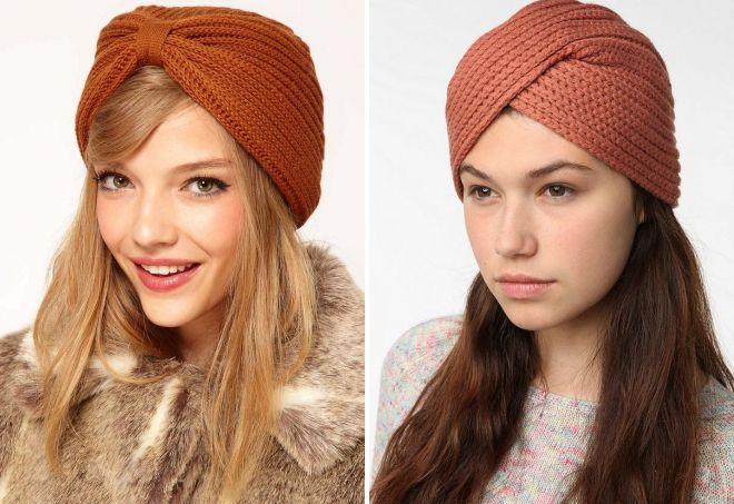 turban tricoté