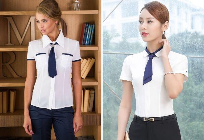 کراوات کوتاه زنان