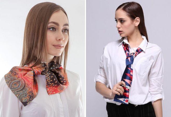 روسری کراوات زنان