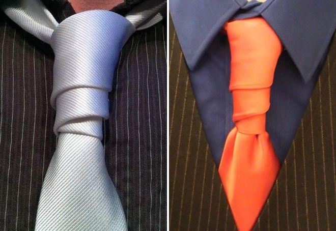 چگونه کراوات یک زن را به هم بزنید