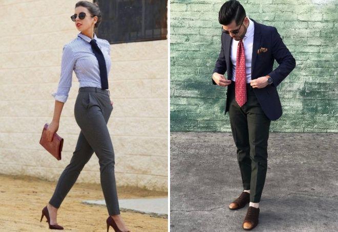 تفاوت بین کراوات زن و کراوات مرد چیست؟