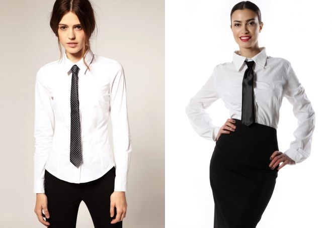 کراوات زنانه شیک