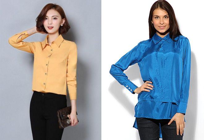стильные женские блузки