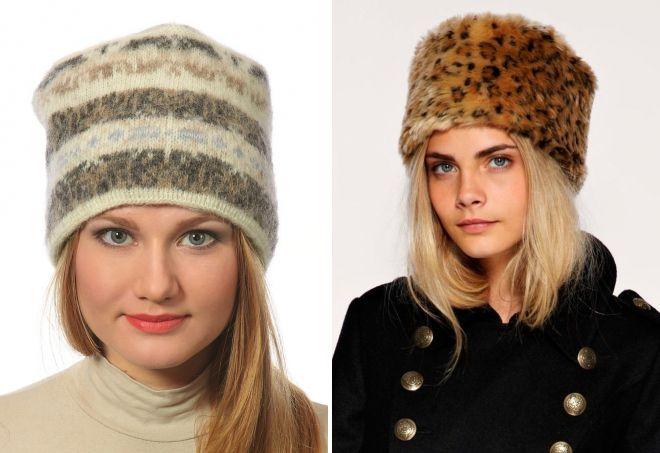 женская шапка кубанка