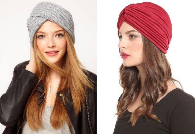 модные шапки для девушек
