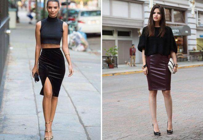 hvad skal man have med en brun nederdel