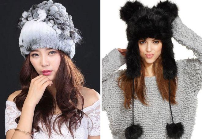 fasjonable pels hatter 2019