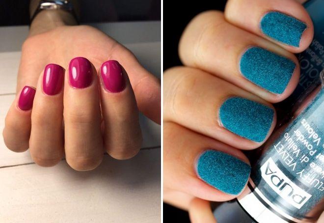 ide-ide manicure Tahun Baru