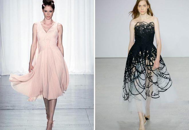 стилски фустани за новата година 2019