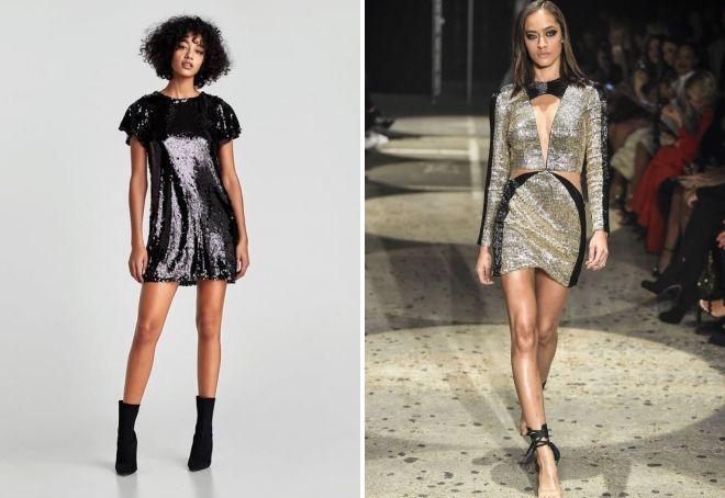 korte kjoler til det nye år 2019