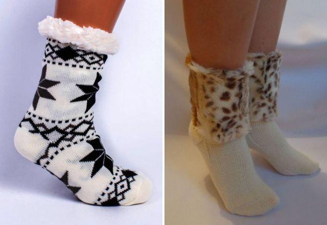 kvinners varme sokker