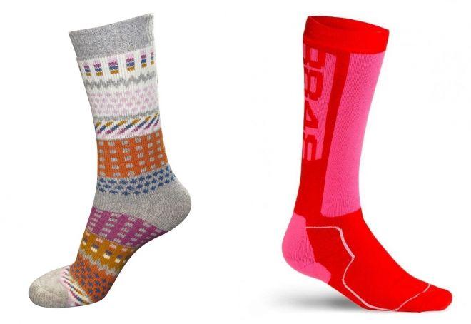 varme sokker til vinteren