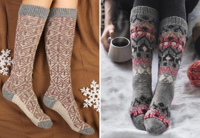 lange varme sokker