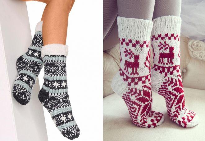 hvordan velge varme sokker til vinteren