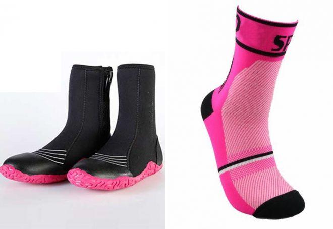 varme neopren sokker