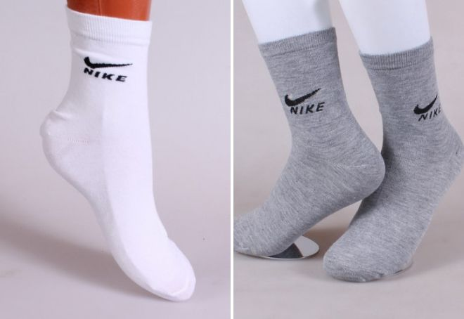 высокие носки найк