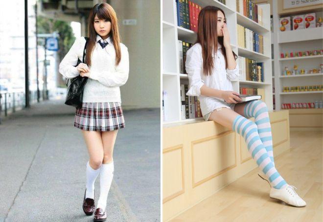 оригинальные высокие носки