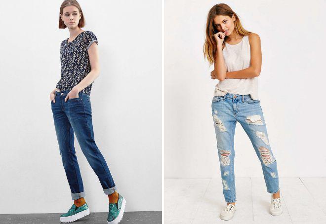 джинсы слим обувь