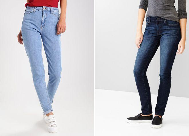 кому подходят джинсы слим