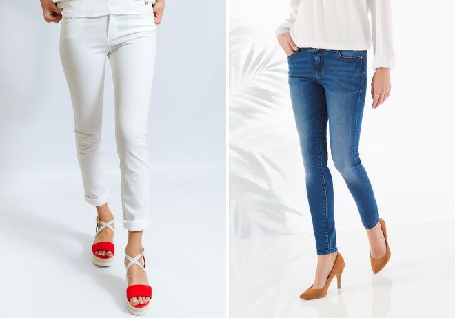 женские джинсы слим
