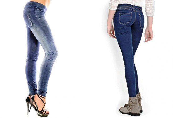 джинсы слим джеггинсы
