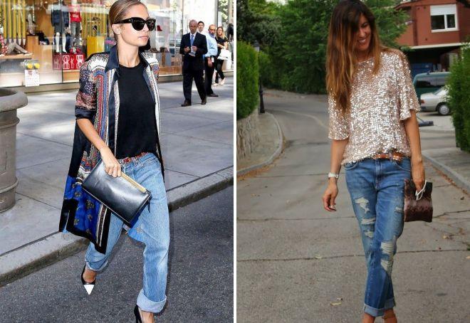 модные джинсы 2018 для девушек