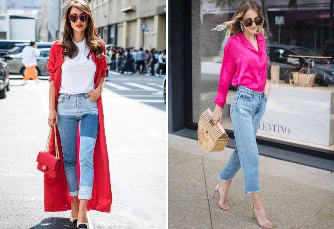 женские стильные джинсы 2018