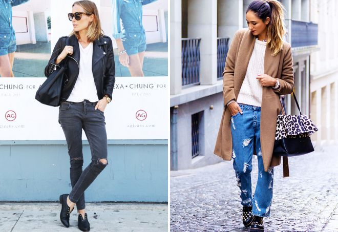 стильные джинсы 2018